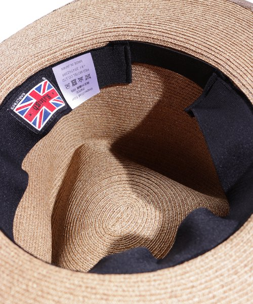 """RALEIGH / ラリー(RED MOTEL / レッドモーテル)   THE ORIGINAL GANGSTER """"I Don't Give a Damn"""" BLADE HAT(BEIGE)商品画像8"""