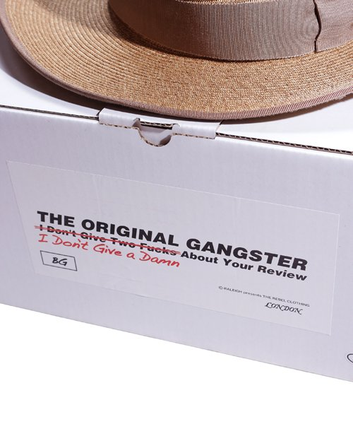 """RALEIGH / ラリー(RED MOTEL / レッドモーテル)   THE ORIGINAL GANGSTER """"I Don't Give a Damn"""" BLADE HAT(BEIGE)商品画像9"""