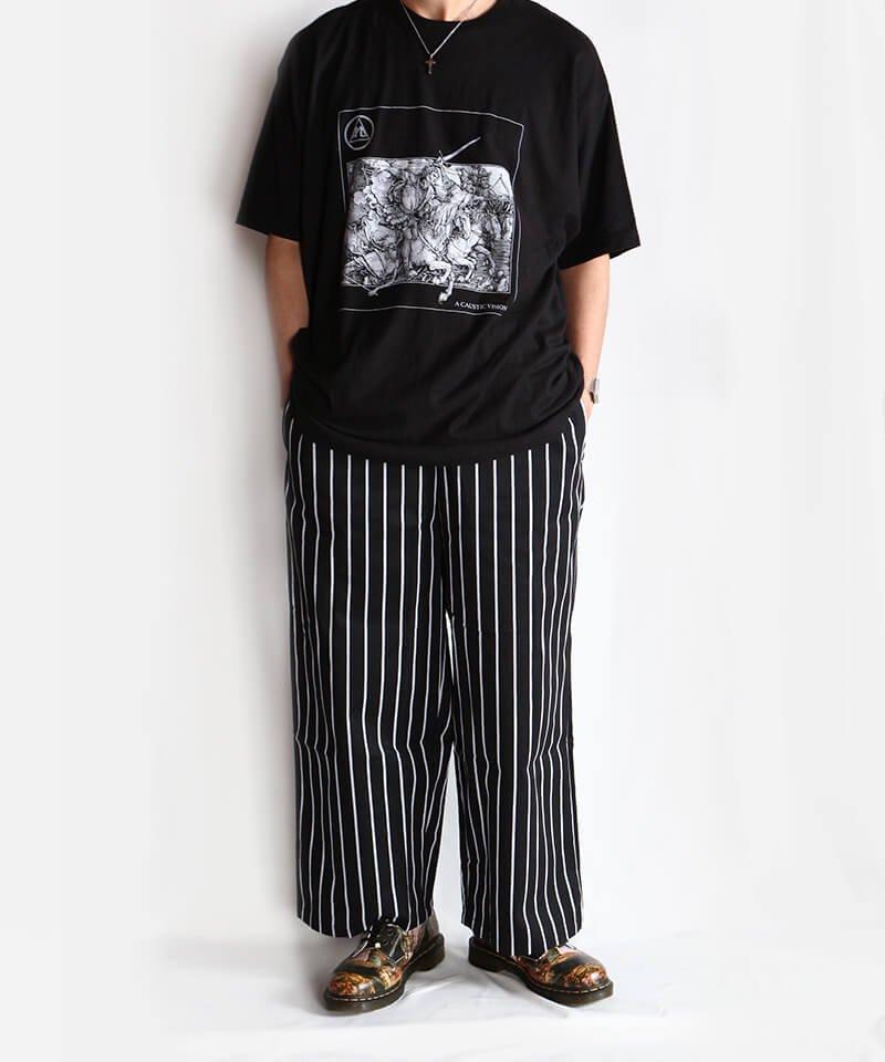 Official Artist Goods / バンドTなど |ALL PIGS MUST DIE (APMD) / オール ピッグス マスト ダイ:A CAUSTIC VISION T-SHIRT (BLACK)商品画像11
