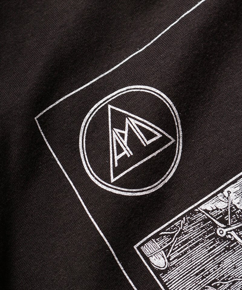 Official Artist Goods / バンドTなど |ALL PIGS MUST DIE (APMD) / オール ピッグス マスト ダイ:A CAUSTIC VISION T-SHIRT (BLACK)商品画像2
