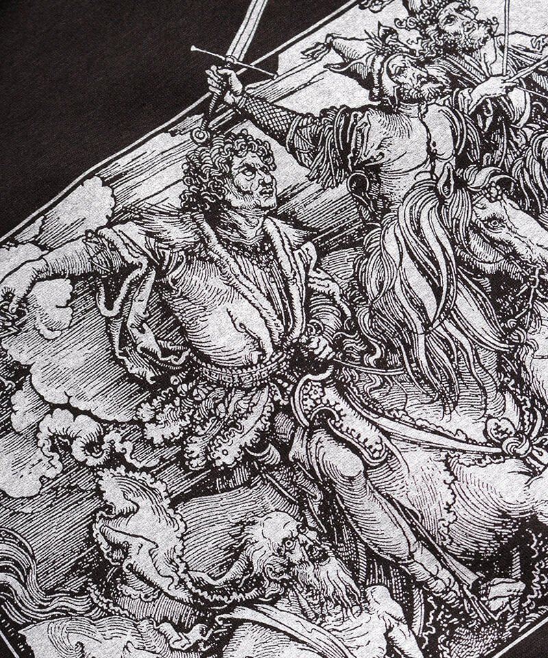 Official Artist Goods / バンドTなど |ALL PIGS MUST DIE (APMD) / オール ピッグス マスト ダイ:A CAUSTIC VISION T-SHIRT (BLACK)商品画像3