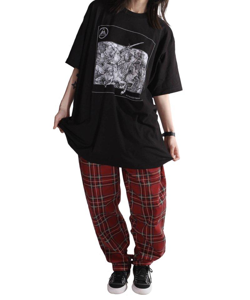 Official Artist Goods / バンドTなど |ALL PIGS MUST DIE (APMD) / オール ピッグス マスト ダイ:A CAUSTIC VISION T-SHIRT (BLACK)商品画像7