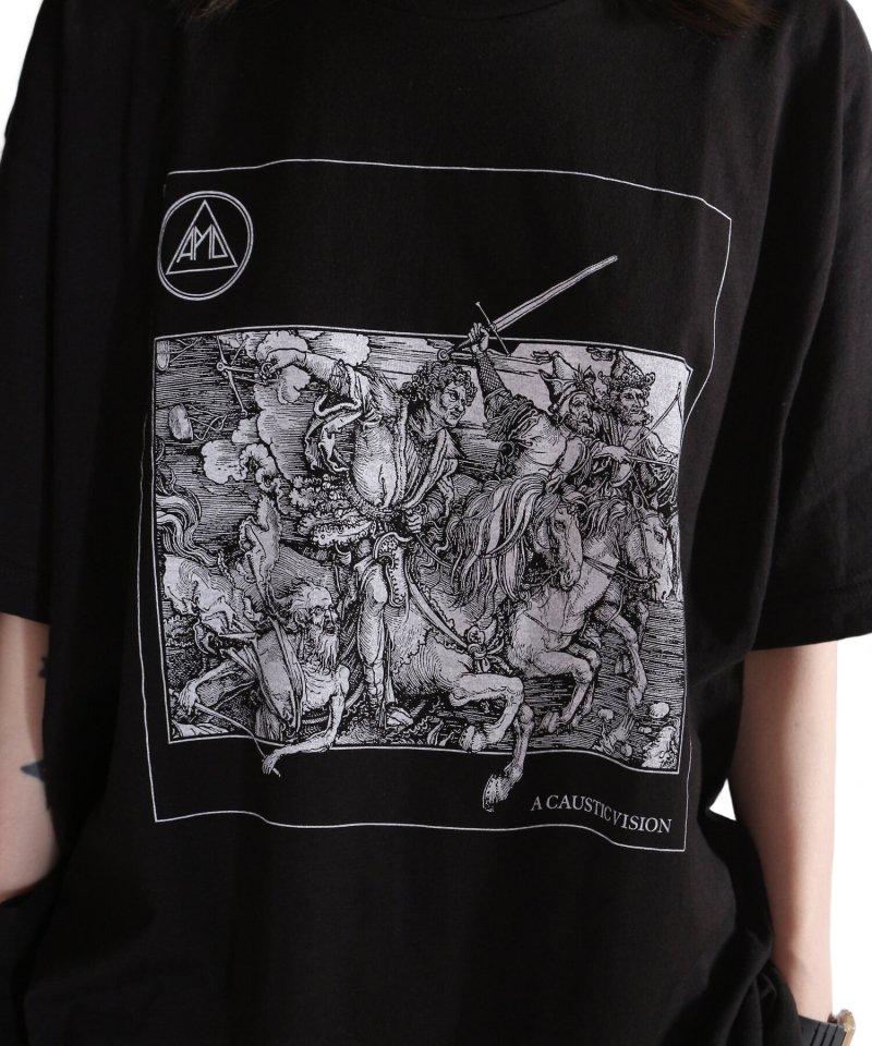 Official Artist Goods / バンドTなど |ALL PIGS MUST DIE (APMD) / オール ピッグス マスト ダイ:A CAUSTIC VISION T-SHIRT (BLACK)商品画像9