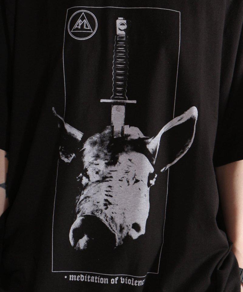 Official Artist Goods / バンドTなど |ALL PIGS MUST DIE (APMD) / オール ピッグス マスト ダイ:MEDITATION OF VIOLENCE T-SHIRT (BLACK) 商品画像11