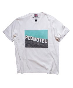 """RALEIGH / ラリー REDMOTEL / レッドモーテル(2色展開)<br>【 """"See You in Another Twenty…"""" Red Motel 20th Annive…(WH)】"""