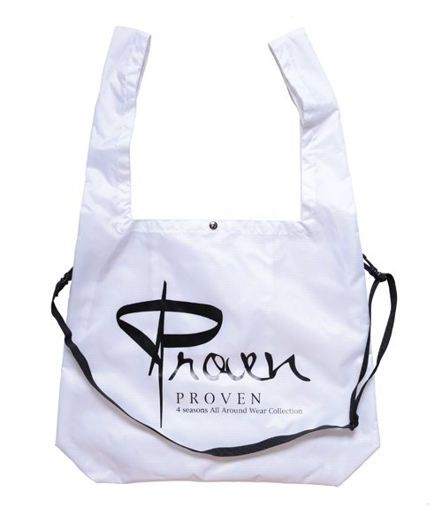 Official Artist Goods / バンドTなど   SIDEMILITIA inc. / サイドミリティア  RIP-STOP  SHOULDER MARCHE ECO BAG(WHITE)商品画像