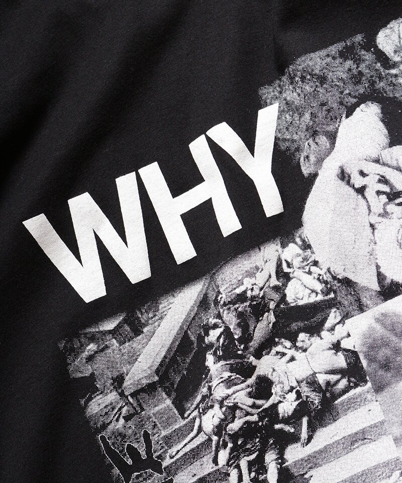 Official Artist Goods / バンドTなど  DISCHARGE / ディスチャージ:WHY? T-SHIRT (BLACK)商品画像3