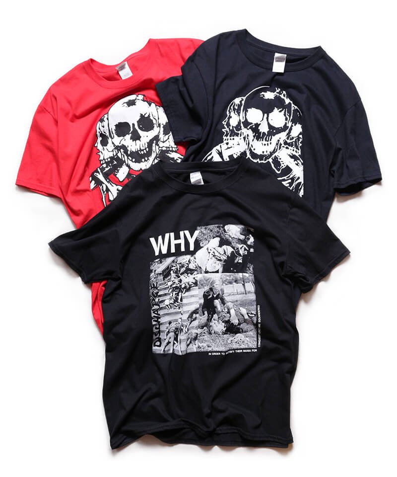 Official Artist Goods / バンドTなど  DISCHARGE / ディスチャージ:WHY? T-SHIRT (BLACK)商品画像6