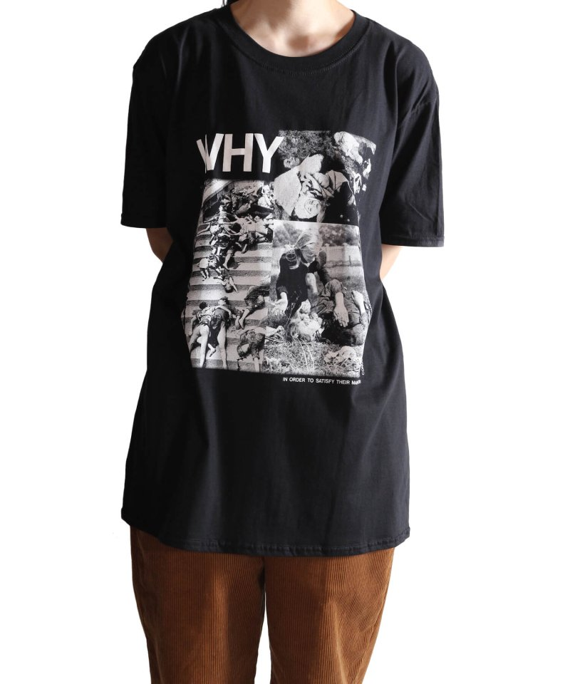 Official Artist Goods / バンドTなど  DISCHARGE / ディスチャージ:WHY? T-SHIRT (BLACK)商品画像9