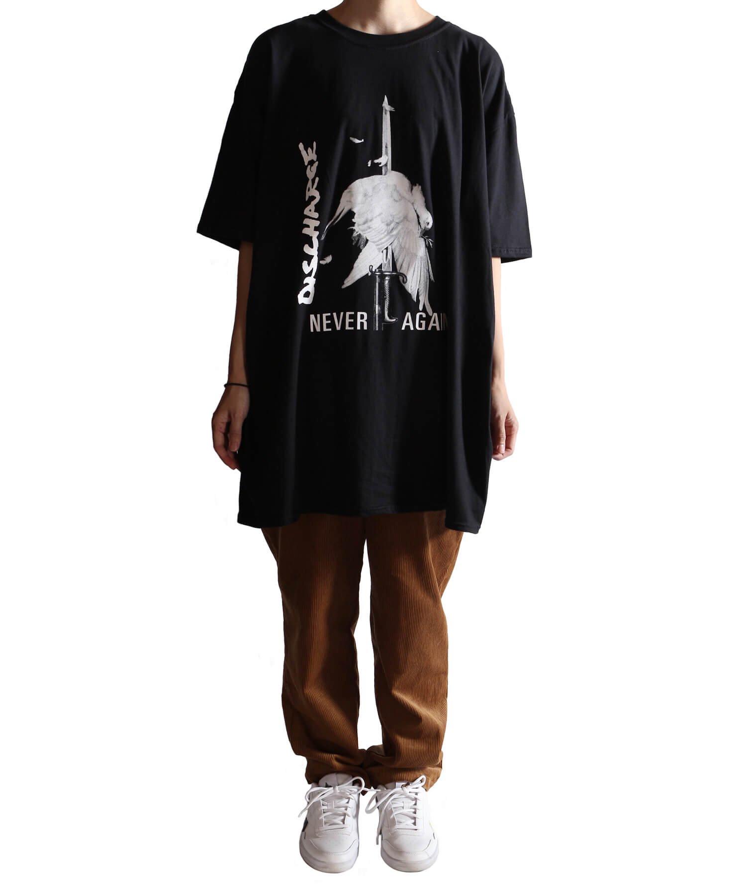 Official Artist Goods / バンドTなど  DISCHARGE / ディスチャージ:NEVER AGAIN T-SHIRT (BLACK)商品画像11