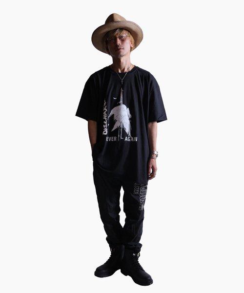 Official Artist Goods / バンドTなど  DISCHARGE / ディスチャージ:NEVER AGAIN T-SHIRT (BLACK)商品画像8