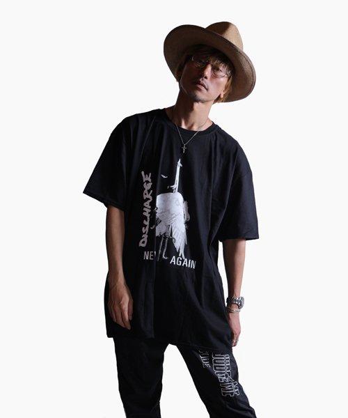 Official Artist Goods / バンドTなど  DISCHARGE / ディスチャージ:NEVER AGAIN T-SHIRT (BLACK)商品画像9