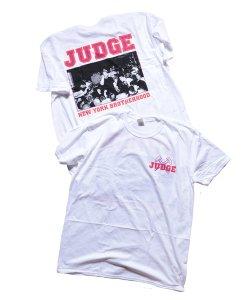 JUDGE / ジャッジ<br>【 BROTHERHOOD T-SHIRT(WHITE)】