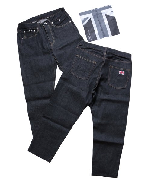"""RALEIGH / ラリー(RED MOTEL / レッドモーテル)    """"TALKING ABOUT MY SUMMER"""" CROPPED DENIM PANTS 商品画像"""