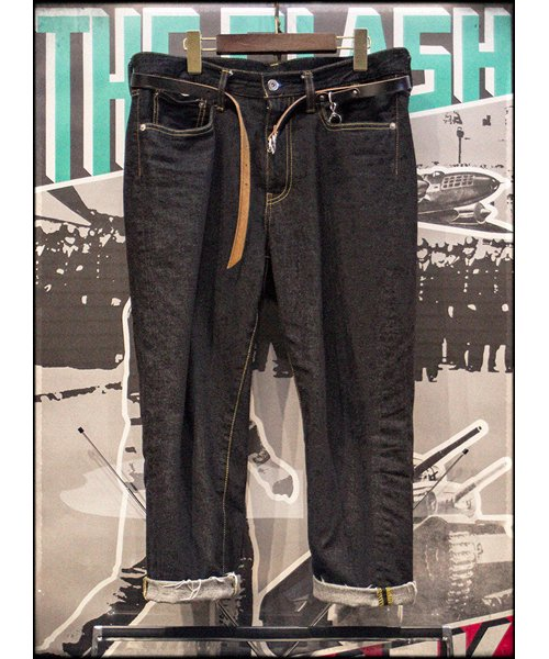 """RALEIGH / ラリー(RED MOTEL / レッドモーテル)   """"TALKING ABOUT MY SUMMER"""" CROPPED DENIM PANTS 商品画像14"""