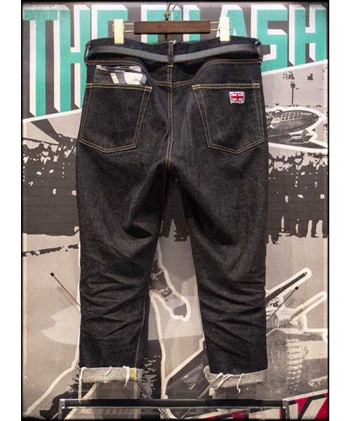 """RALEIGH / ラリー(RED MOTEL / レッドモーテル)   """"TALKING ABOUT MY SUMMER"""" CROPPED DENIM PANTS 商品画像15"""