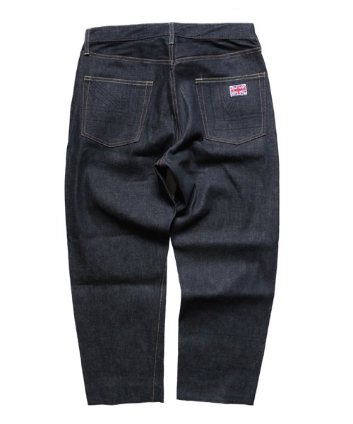 """RALEIGH / ラリー(RED MOTEL / レッドモーテル)   """"TALKING ABOUT MY SUMMER"""" CROPPED DENIM PANTS 商品画像3"""