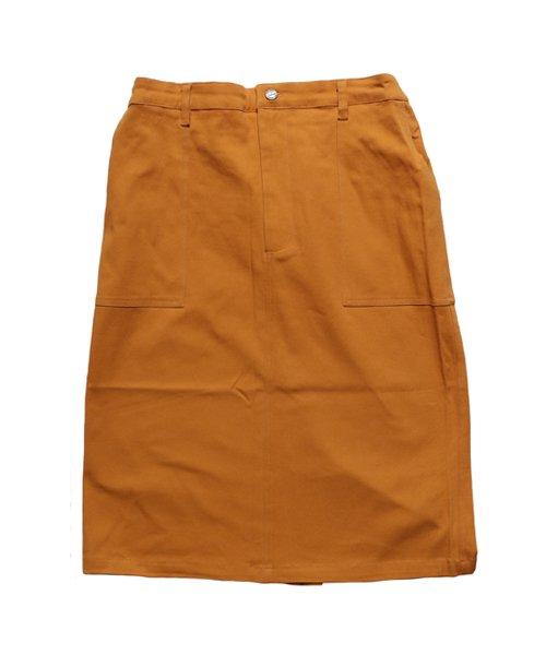 COOKMAN / クックマン    BAKER'S SKIRT (MUSTARD):ベイカーズスカート商品画像