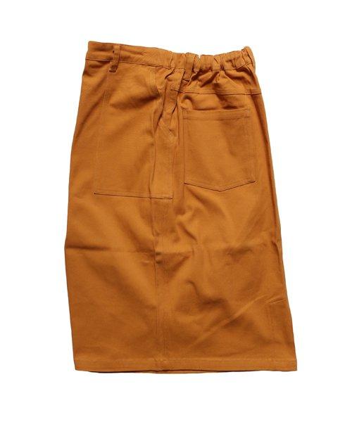 COOKMAN / クックマン   BAKER'S SKIRT (MUSTARD):ベイカーズスカート商品画像1