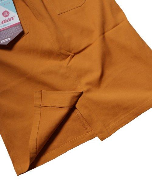 COOKMAN / クックマン   BAKER'S SKIRT (MUSTARD):ベイカーズスカート商品画像10