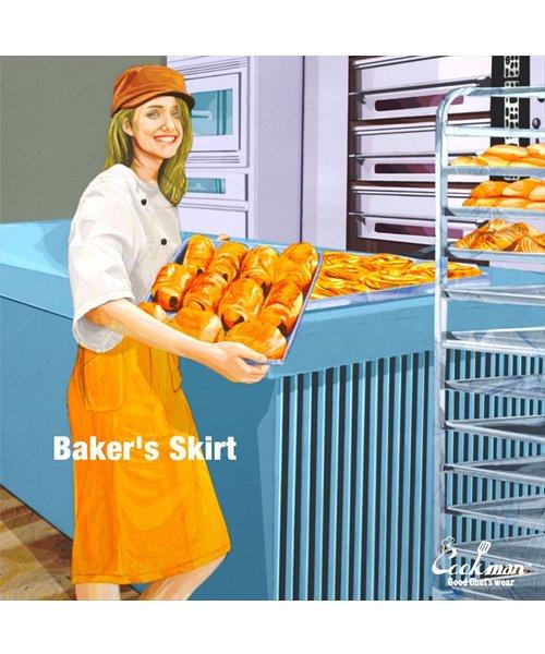 COOKMAN / クックマン   BAKER'S SKIRT (MUSTARD):ベイカーズスカート商品画像5