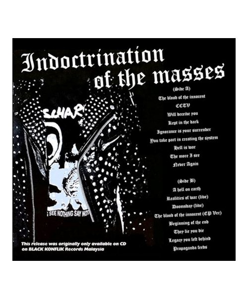 CD / DVD  DISCHARGE / ディスチャージ:INDOCTRINATION OF THE MASSES (輸入盤CD) 商品画像1