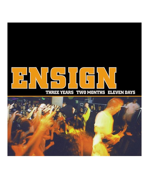 CD / DVD | ENSIGN / エンシン:THREE YEARS TWO MONTHS ELEVEN DAYS (輸入盤CD) 商品画像