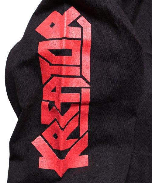 Official Artist Goods / バンドTなど |KREATOR / クリエイター・クリーター:PLEASURE TO KILL LONGSLEEVE SHIRT (BLACK)商品画像2