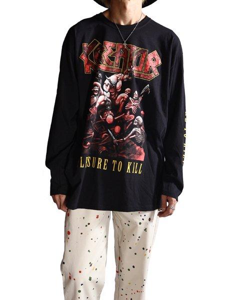 Official Artist Goods / バンドTなど |KREATOR / クリエイター・クリーター:PLEASURE TO KILL LONGSLEEVE SHIRT (BLACK)商品画像7