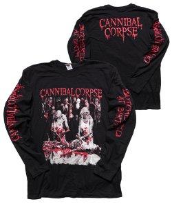 CANNIBAL CORPSE / カンニバル コープス<br>【 BUTCHERED AT BIRTH LONGSLEEVE SHIRT(BLACK)】