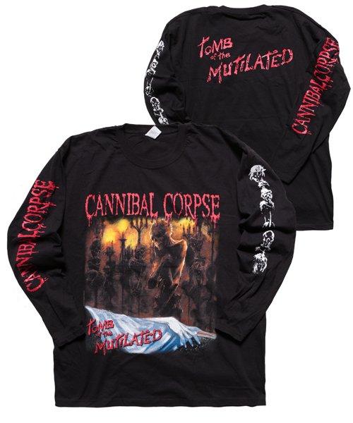 Official Artist Goods / バンドTなど   CANNIBAL CORPSE / カンニバル コープス:TOMB OF THE MUTILATED LONGSLEEVE SHIRT (BLACK)商品画像