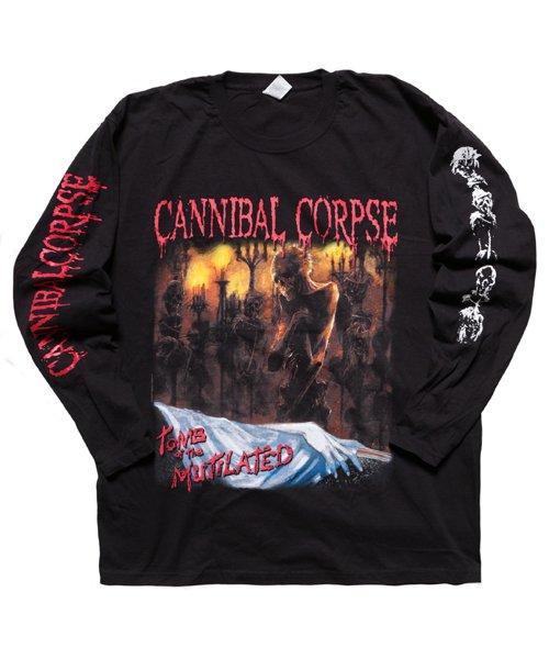 Official Artist Goods / バンドTなど  CANNIBAL CORPSE / カンニバル コープス:TOMB OF THE MUTILATED LONGSLEEVE SHIRT (BLACK)商品画像1