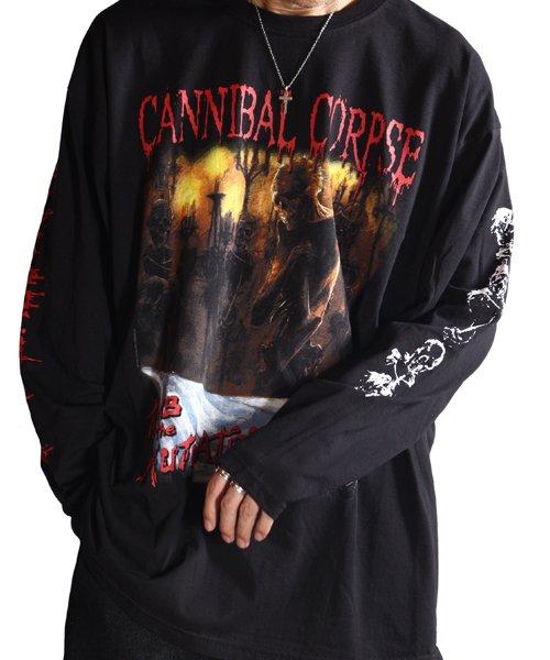 Official Artist Goods / バンドTなど  CANNIBAL CORPSE / カンニバル コープス:TOMB OF THE MUTILATED LONGSLEEVE SHIRT (BLACK)商品画像14