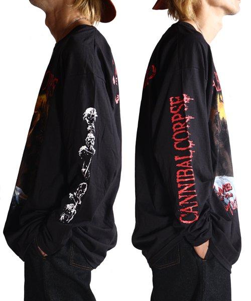 Official Artist Goods / バンドTなど  CANNIBAL CORPSE / カンニバル コープス:TOMB OF THE MUTILATED LONGSLEEVE SHIRT (BLACK)商品画像15