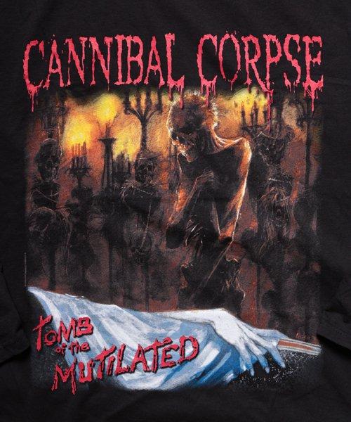 Official Artist Goods / バンドTなど  CANNIBAL CORPSE / カンニバル コープス:TOMB OF THE MUTILATED LONGSLEEVE SHIRT (BLACK)商品画像3