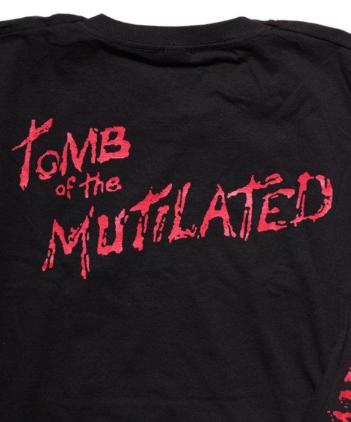 Official Artist Goods / バンドTなど  CANNIBAL CORPSE / カンニバル コープス:TOMB OF THE MUTILATED LONGSLEEVE SHIRT (BLACK)商品画像4