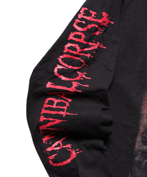 Official Artist Goods / バンドTなど  CANNIBAL CORPSE / カンニバル コープス:TOMB OF THE MUTILATED LONGSLEEVE SHIRT (BLACK)商品画像5