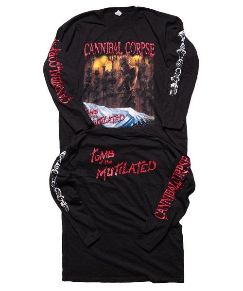 Official Artist Goods / バンドTなど  CANNIBAL CORPSE / カンニバル コープス:TOMB OF THE MUTILATED LONGSLEEVE SHIRT (BLACK)商品画像7