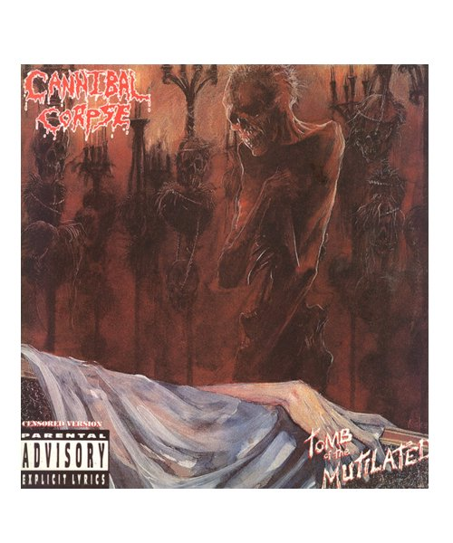 Official Artist Goods / バンドTなど  CANNIBAL CORPSE / カンニバル コープス:TOMB OF THE MUTILATED LONGSLEEVE SHIRT (BLACK)商品画像8