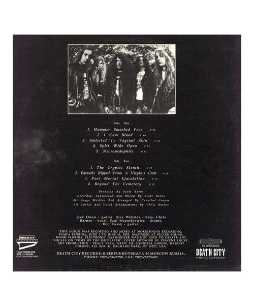 Official Artist Goods / バンドTなど  CANNIBAL CORPSE / カンニバル コープス:TOMB OF THE MUTILATED LONGSLEEVE SHIRT (BLACK)商品画像9
