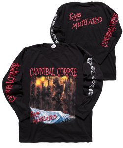 Official Artist Goods / バンドTなど / CANNIBAL CORPSE / カンニバル コープス:TOMB OF THE MUTILATED LONGSLEEVE SHIRT (BLACK)