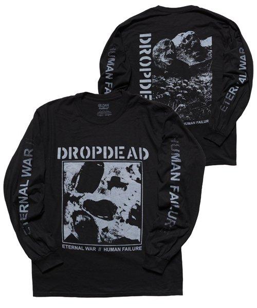 Official Artist Goods / バンドTなど   DROPDEAD / ドロップデッド:ETERNAL WAR LONGSLEEVE SHIRT (BLACK)商品画像