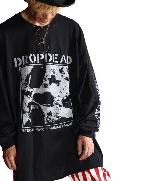 Official Artist Goods / バンドTなど  DROPDEAD / ドロップデッド:ETERNAL WAR LONGSLEEVE SHIRT (BLACK)商品画像12