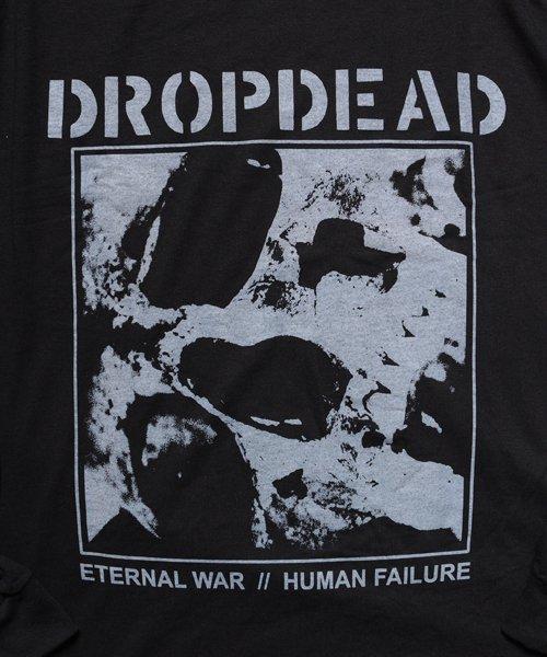 Official Artist Goods / バンドTなど  DROPDEAD / ドロップデッド:ETERNAL WAR LONGSLEEVE SHIRT (BLACK)商品画像3