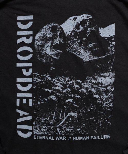 Official Artist Goods / バンドTなど  DROPDEAD / ドロップデッド:ETERNAL WAR LONGSLEEVE SHIRT (BLACK)商品画像4