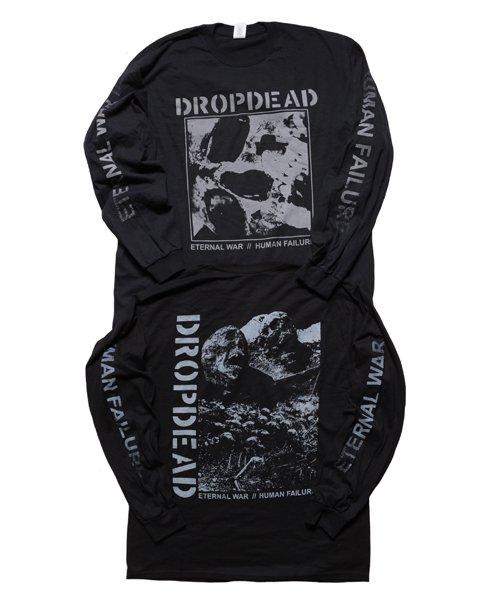 Official Artist Goods / バンドTなど  DROPDEAD / ドロップデッド:ETERNAL WAR LONGSLEEVE SHIRT (BLACK)商品画像7
