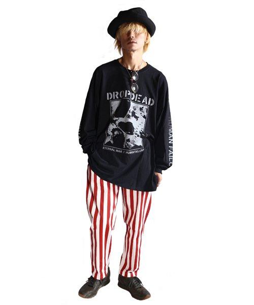 Official Artist Goods / バンドTなど  DROPDEAD / ドロップデッド:ETERNAL WAR LONGSLEEVE SHIRT (BLACK)商品画像8