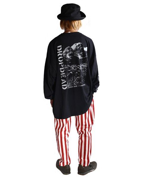 Official Artist Goods / バンドTなど  DROPDEAD / ドロップデッド:ETERNAL WAR LONGSLEEVE SHIRT (BLACK)商品画像9