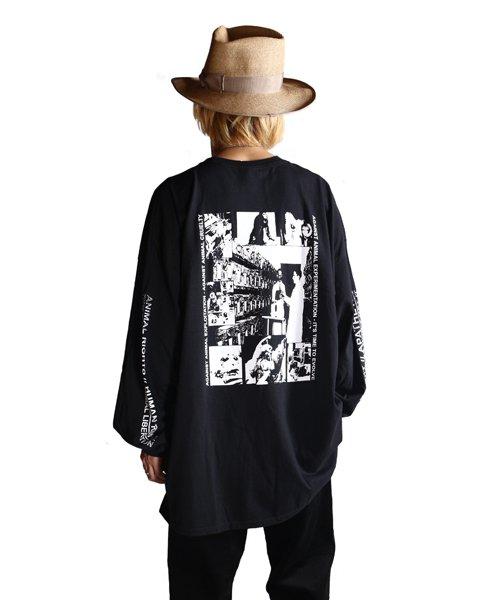 Official Artist Goods / バンドTなど |DROPDEAD / ドロップデッド:A×SHOLES DON'T GET IT LONGSLEEVE SHIRT (BLACK)商品画像11