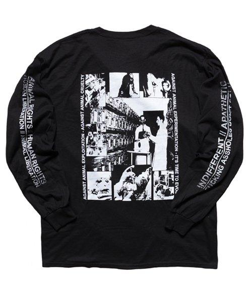 Official Artist Goods / バンドTなど |DROPDEAD / ドロップデッド:A×SHOLES DON'T GET IT LONGSLEEVE SHIRT (BLACK)商品画像2
